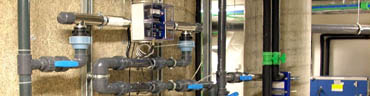 Inadequate flow rates and filtration result in more suspended/organic matter in the water. In chlorine pools this is often remedied by increasing chlorine levels to bleach away suspended matter which leads to higher DBPs. Therefore, to prevent excessive DBP formation the WHO (World Health Organization) has set minimum standards for filtration and flow rates.
